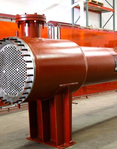 Zirconium 702 Shell & Tube Heat Exchanger Nitric Acid Cooler Condenser